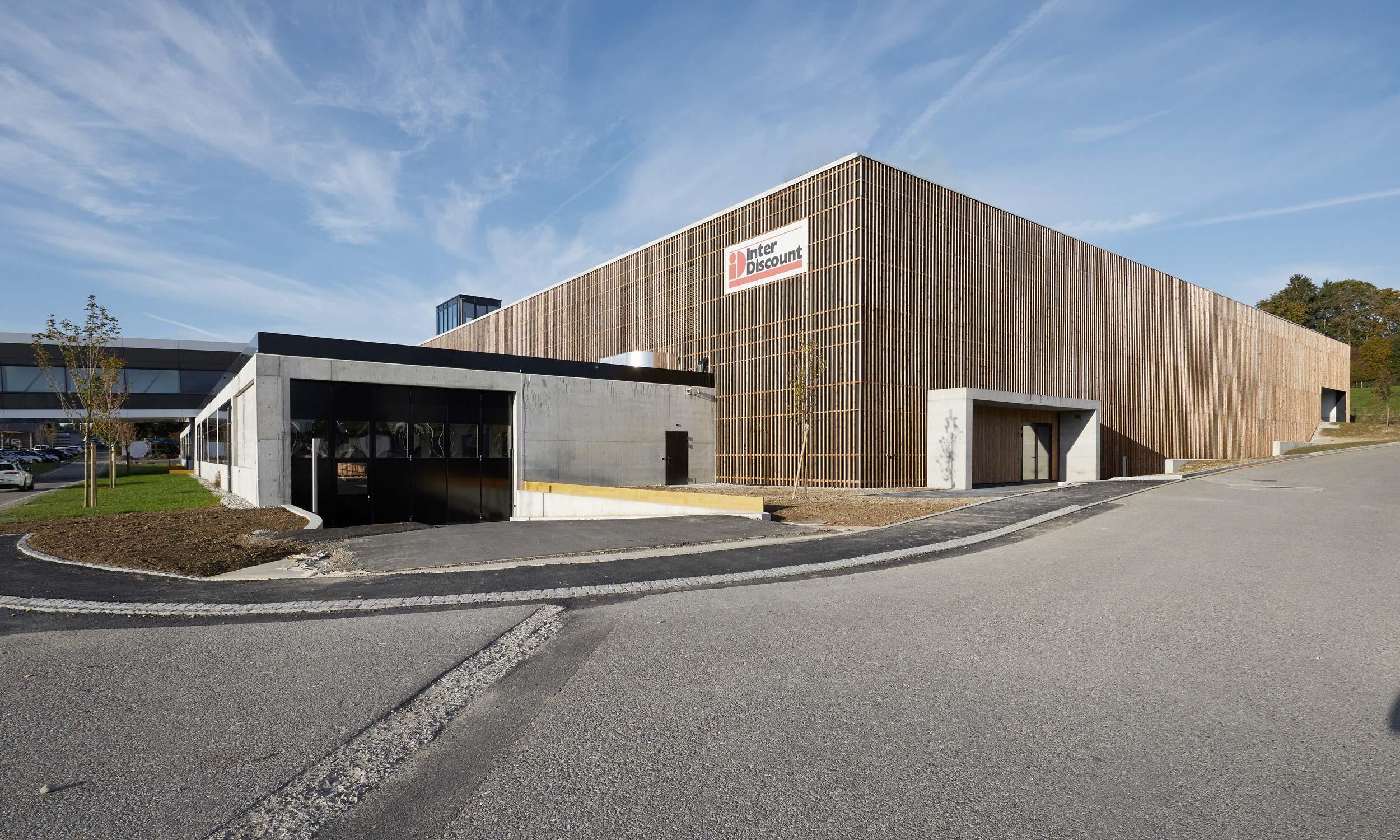 ASP Architekten AG Bern Orbit Interdiscount Jegenstorf