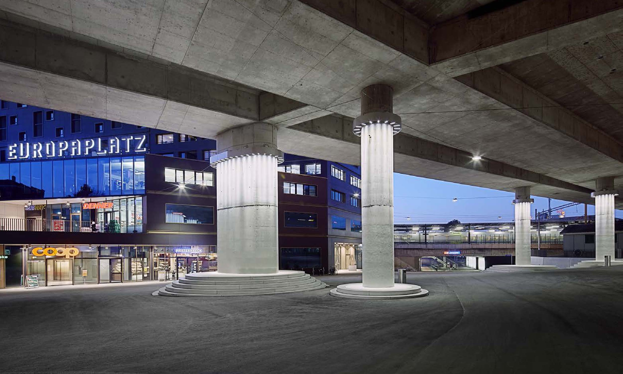 ASP Architekten AG Bern Haus der Religionen Europaplatz Bern