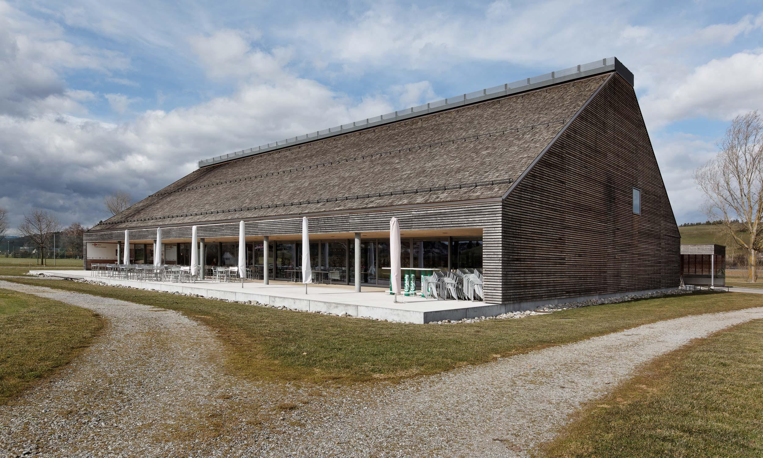 ASP Architekten AG Bern Clubhaus Golfpark Moossee Münchenbuchsee
