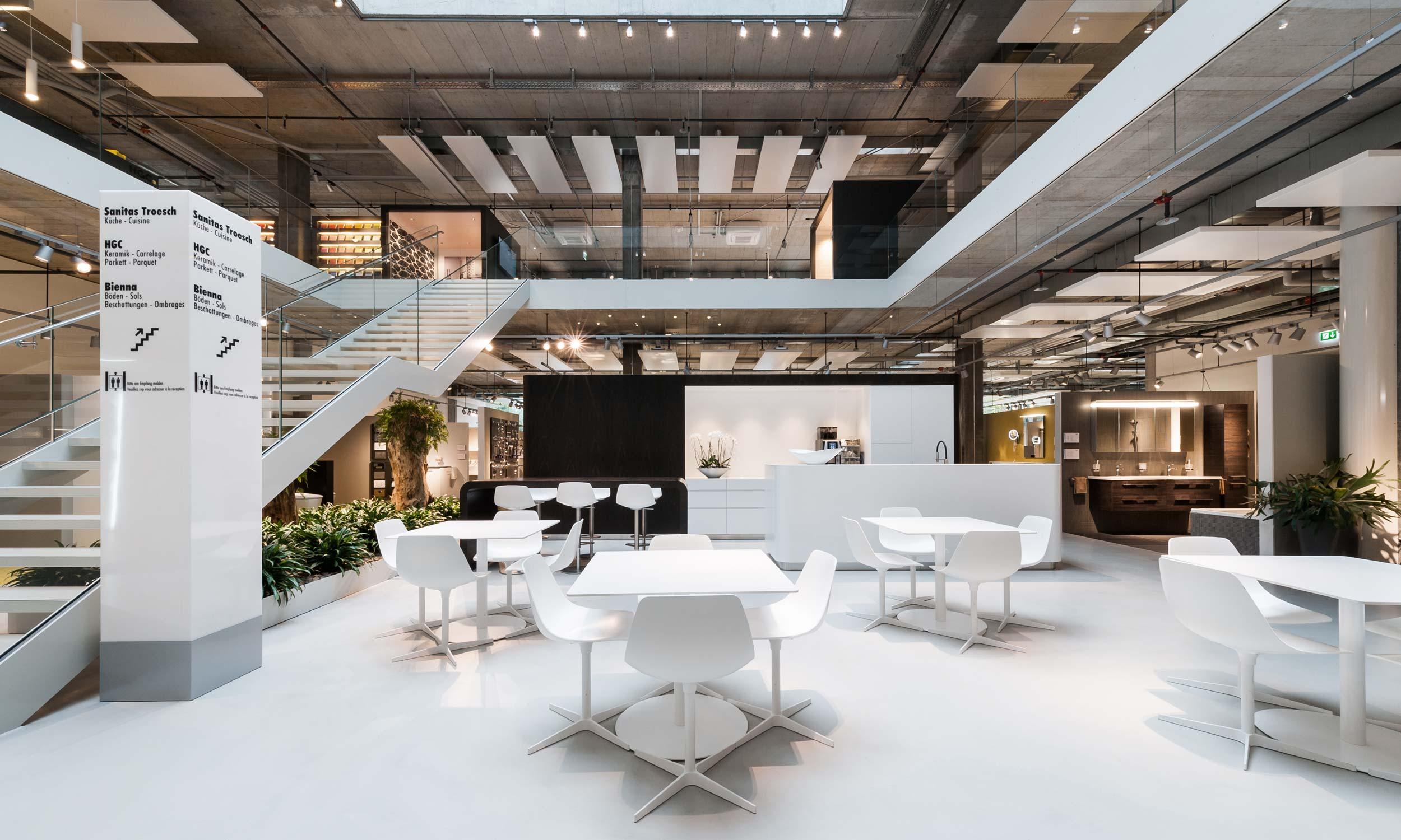 ASP Architekten AG Bern Sanitas Troesch und HGC Biel
