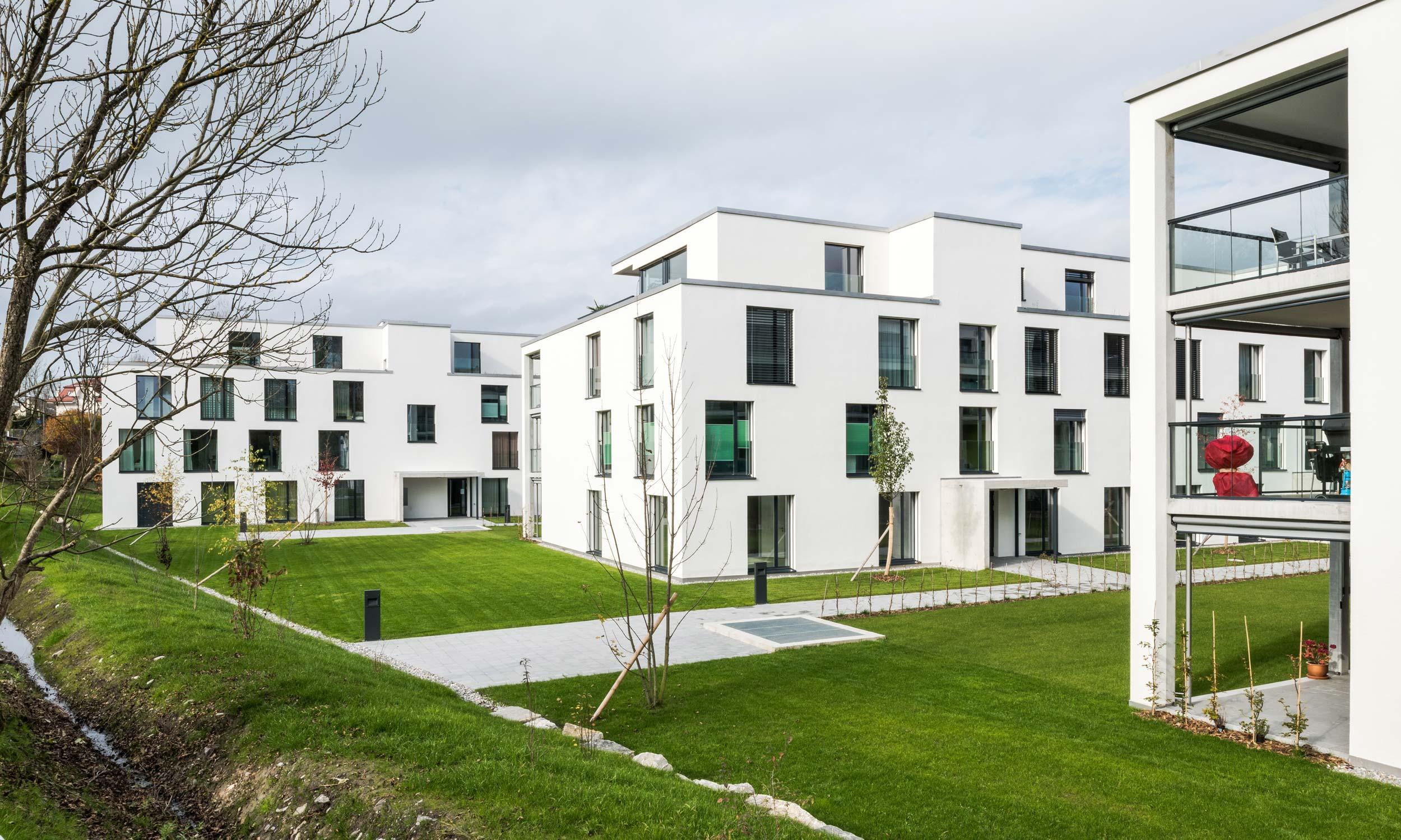 ASP Architekten AG Bern Wohnüberbauung Stegmätteli Laupen