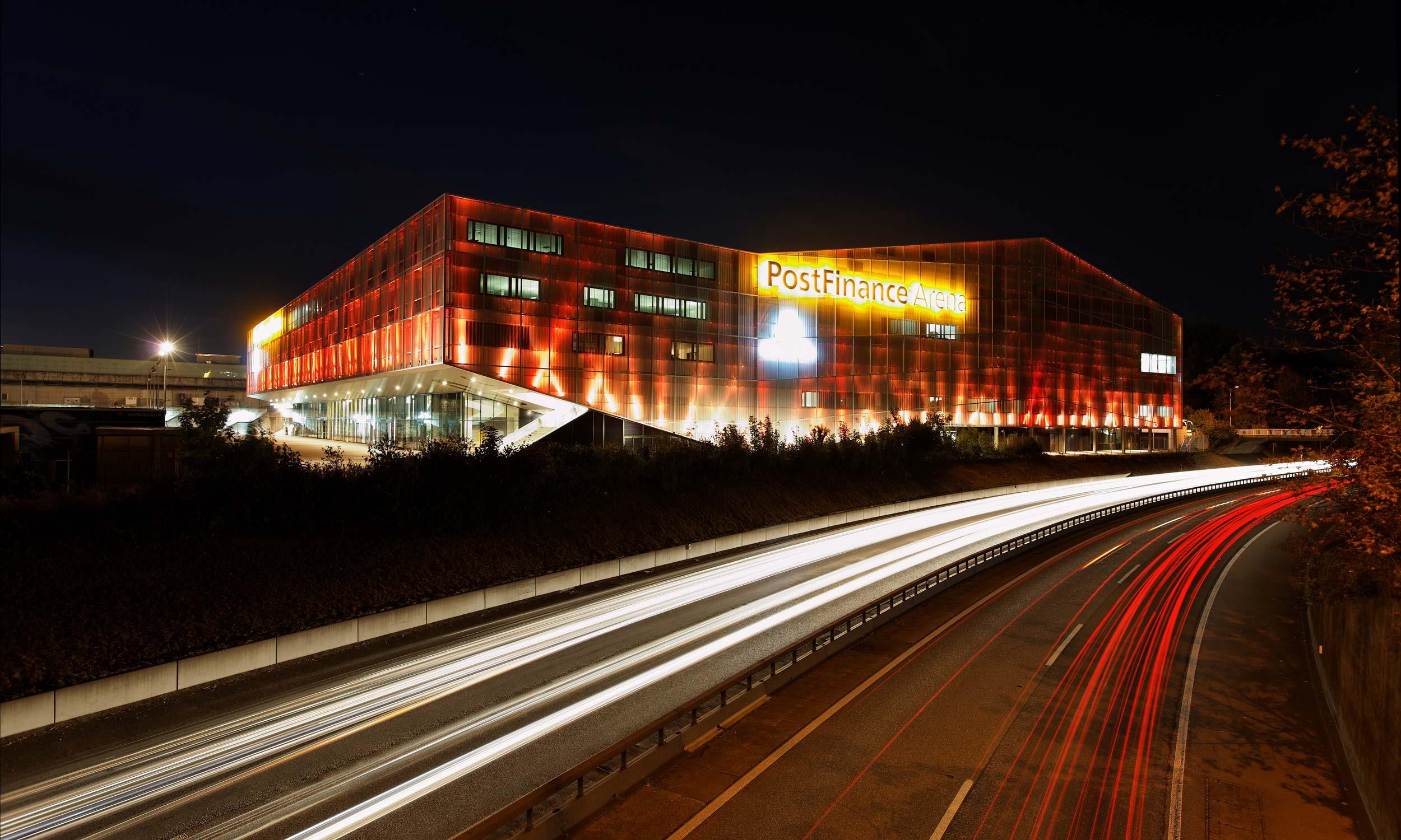 ASP Architekten AG Bern PostFinance Arena Bern