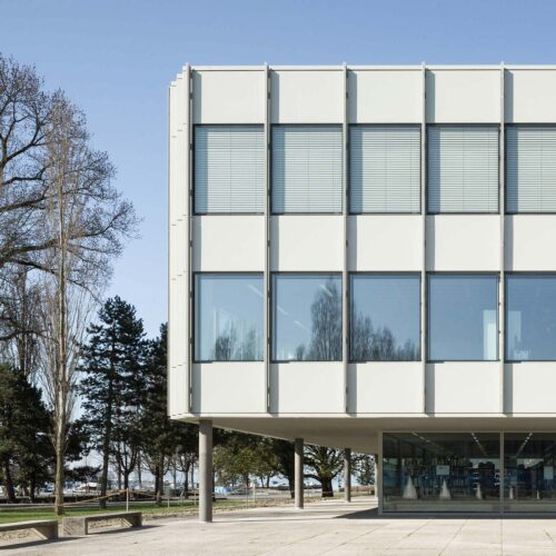 ASP Architekten AG Bern Gymnasium Strandboden Biel