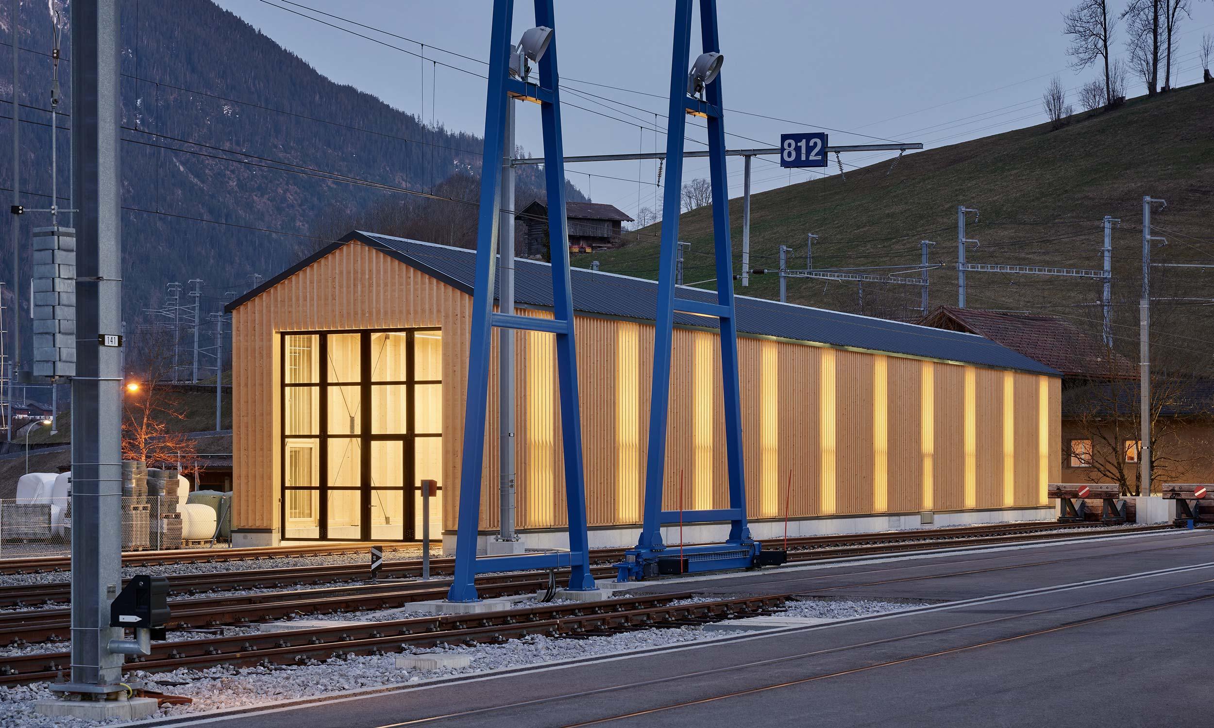 ASP Architekten AG Bern Lokremise Zweisimmen